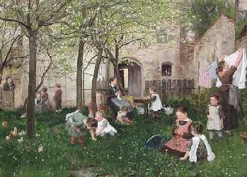 Kindergarten von Johann Sperl