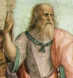 Plato lehnte das Konzept der Kreativität ab. Er sagte, dass der Maler nicht erschafft, sondern lediglich imitiert.
