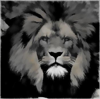 Angst vor Löwe