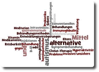 Viele Eltern autistischer Kinder benutzen alternative Behandlungsmethoden