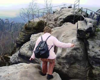 Klettern in der Höhe