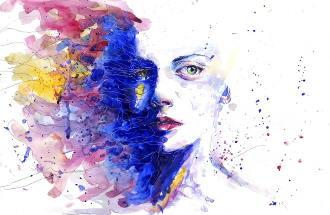 bild-kunst-frau-gemalt