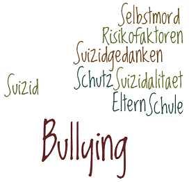 Bullying: Risikofaktoren, Schutzfaktoren - Suizidalität