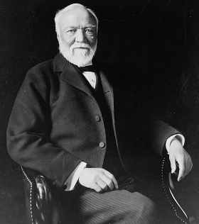 altruist or egoist andrew carnegie Inventor / philanthropist:  andrew carnegie is the classic american success story he rose from a $120 a week job for a thread company to the head of a company.