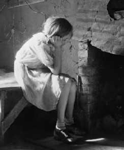 Kindheit ohne Vater und Depression bei Mädchen
