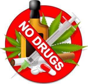 keine drogen
