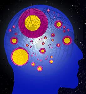 Epilepsie im Gehirn