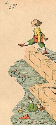 Der Struwwelpeter: Die Geschichte vom Hanns Guck-in-die-Luft Tafel 2 von Heinrich Hoffmann