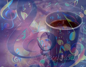 Kaffee oder Musik bei Müdigkeit