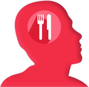 Essen im Kopf