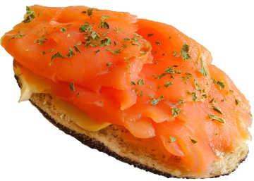 Lachs enthält Omega 3 Fettsäuren