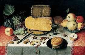 Mahlzeit Floris Claesz van Dyck