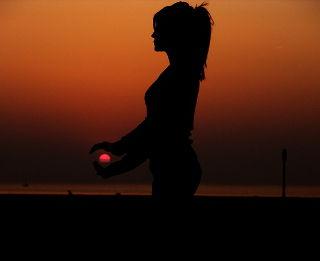 Jyoti-Meditation gegen Nackenschmerz