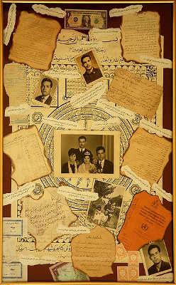 Nostalgie-Collage von Majid Farahani