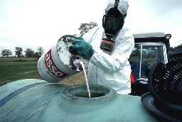 Gefährliche Herbizide