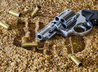 Mord mit Revolver
