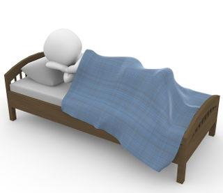 schlaf-bett-figur