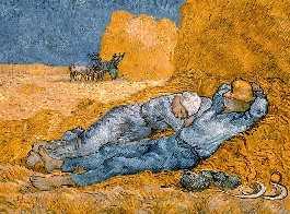 Vincent van Gogh - La sieste - der Mittagsschlaf