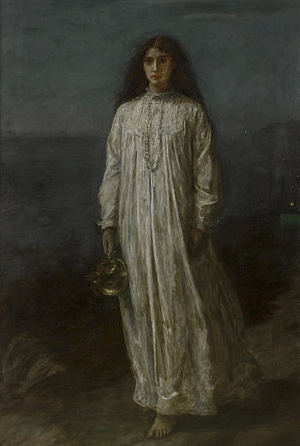 Die Schlafwandlerin von John Everett Millais