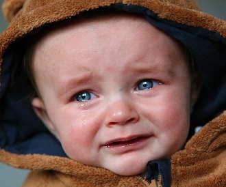 Schmerz Baby
