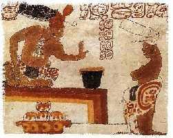 Schokolade bei den Maya