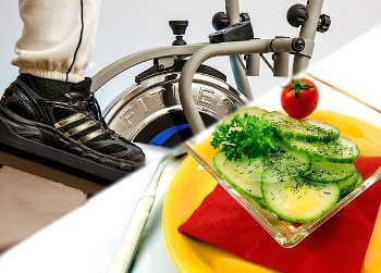 Sport und gesundes Essen