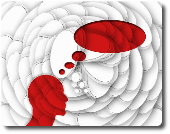 Verzerrte, negative Gedanken und Suizidrisiko